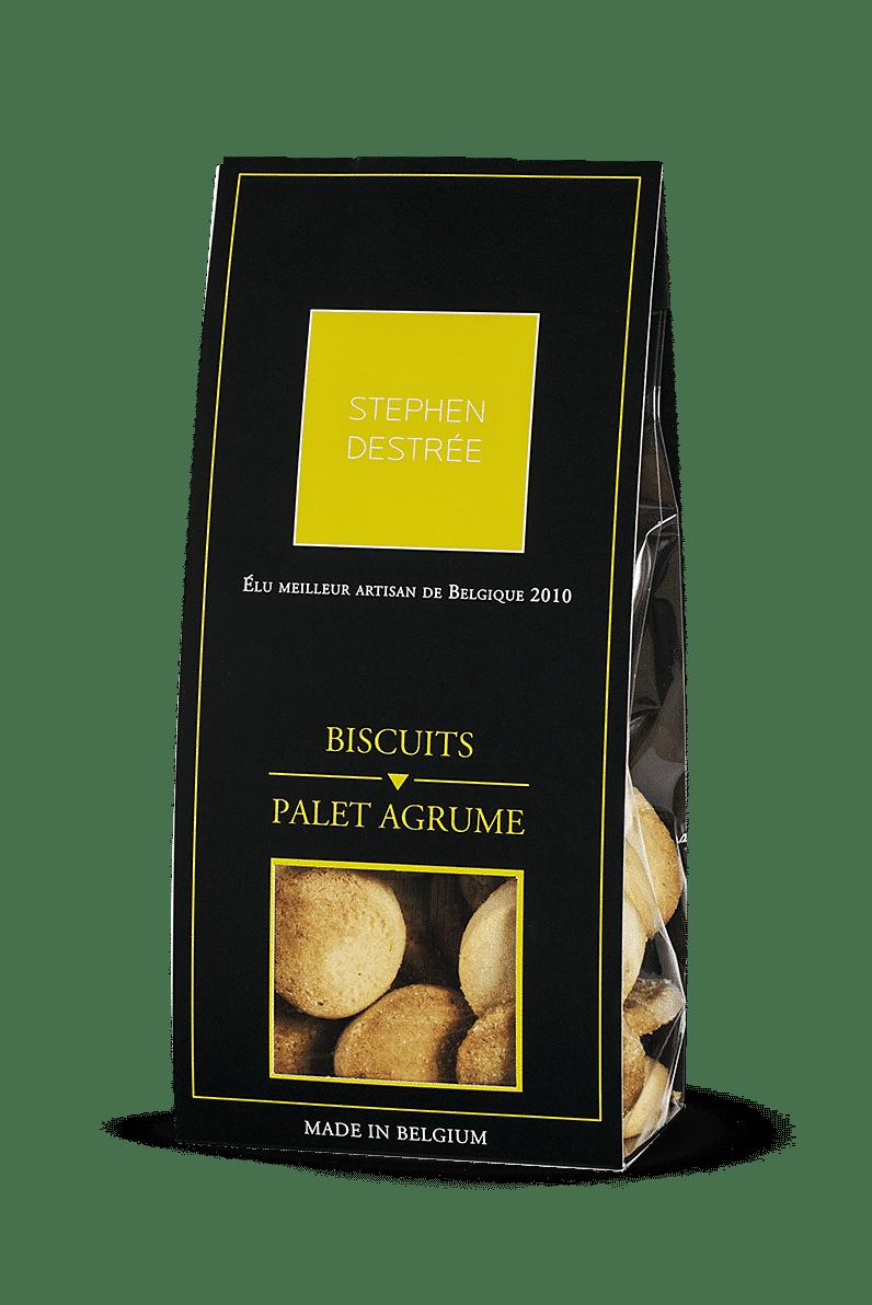 Biscuits Palet Agrume